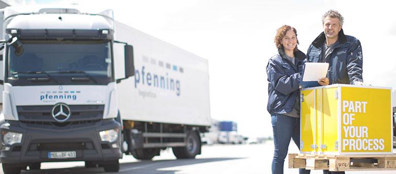 Stellenangebot Lkw Fahrer - München - Pfenning Logistics - Job 2858