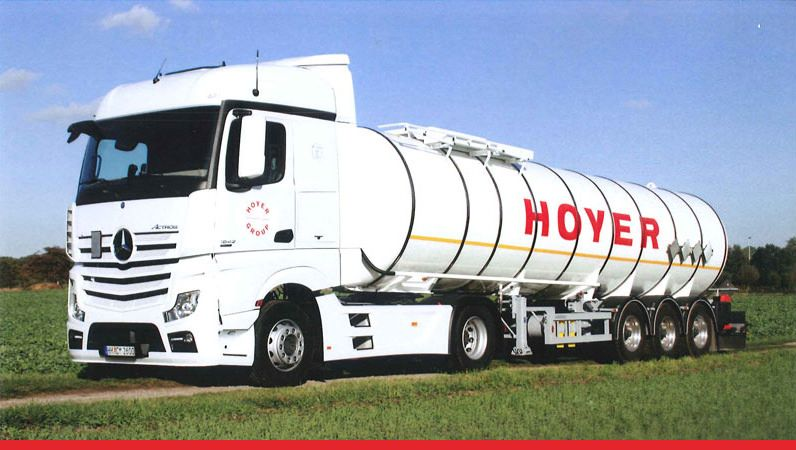 HOYER Bitumen-Logistik. HOYER-GRUPPE