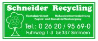 Schneider Recycling GmbH & Co. KG