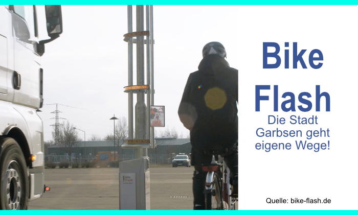 Neues Assistenzsystem Bike Flash